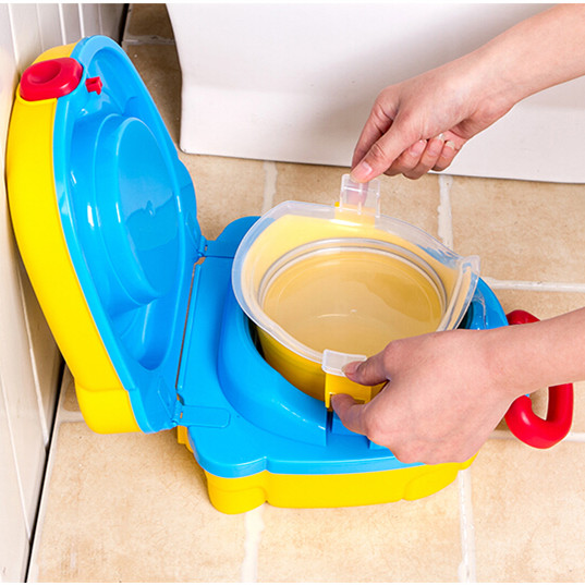 Multifunction-Eco-friendly-Stool-Kid-font-b-Potty-b-font-Yellow-Color-Baby-Travel-font-b