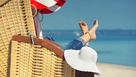Entspannter Urlaubstag